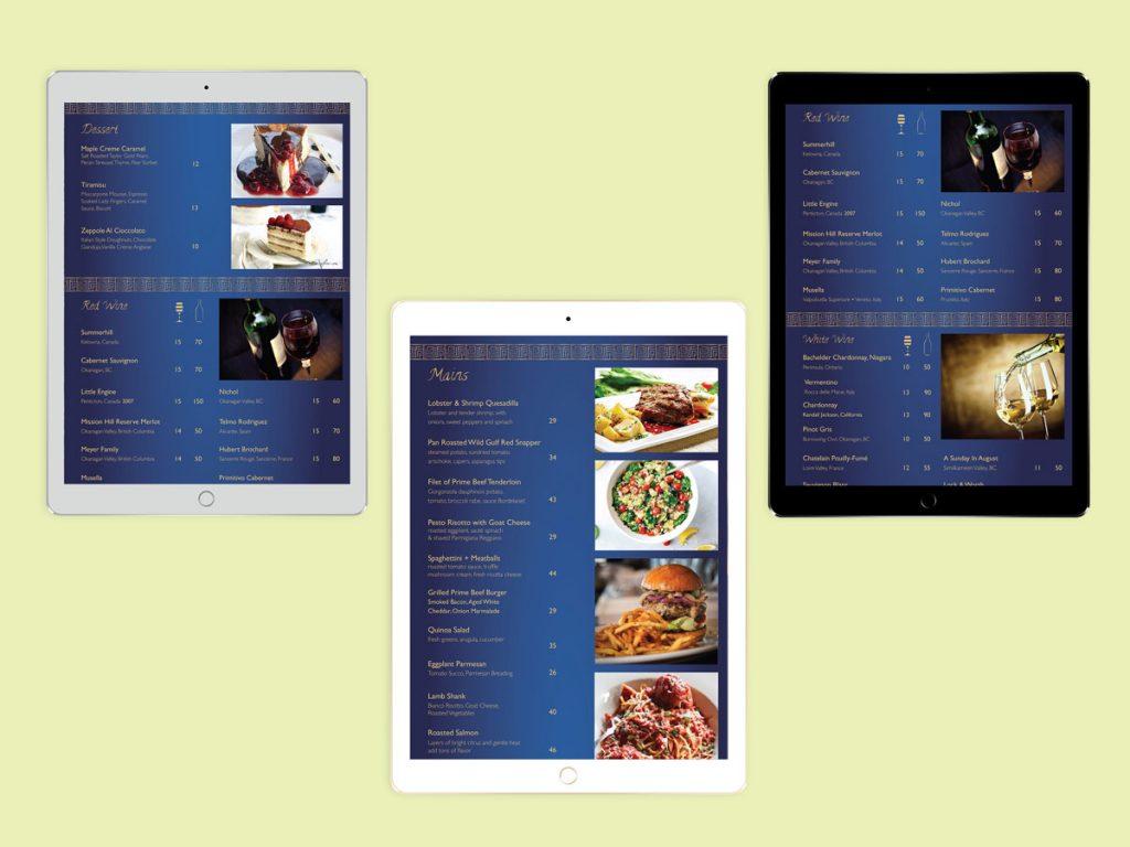 Maze - Digital Menu Multipages
