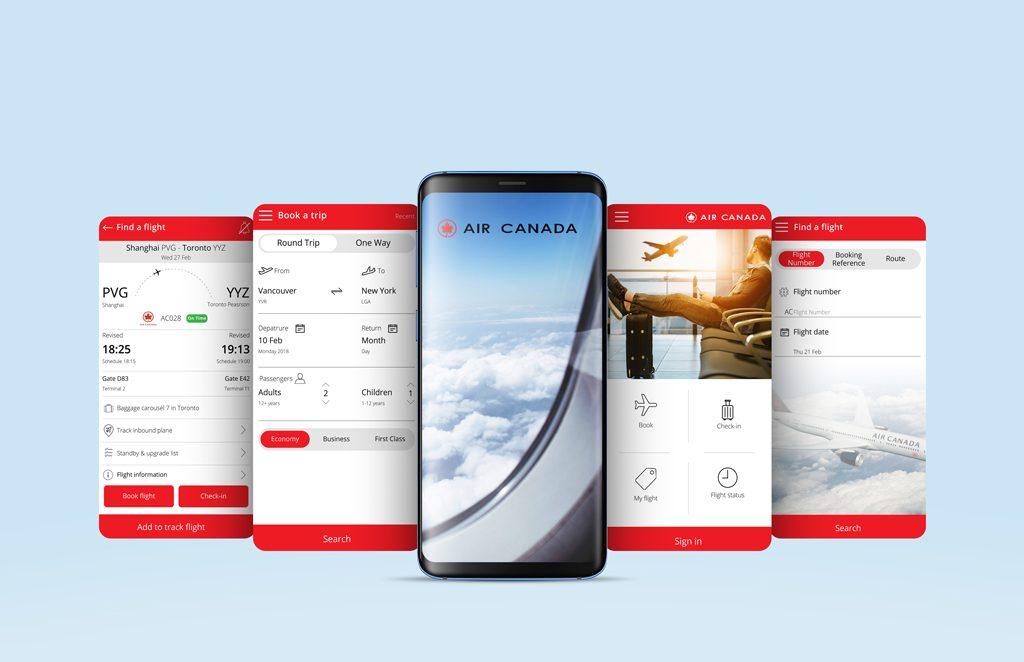 Air Canada Armita Hemmati Redeisgn All Pages