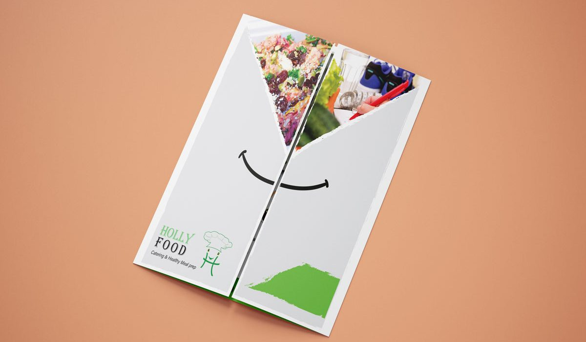 Holly Food Healthy Juice Bar - Flyer Closed