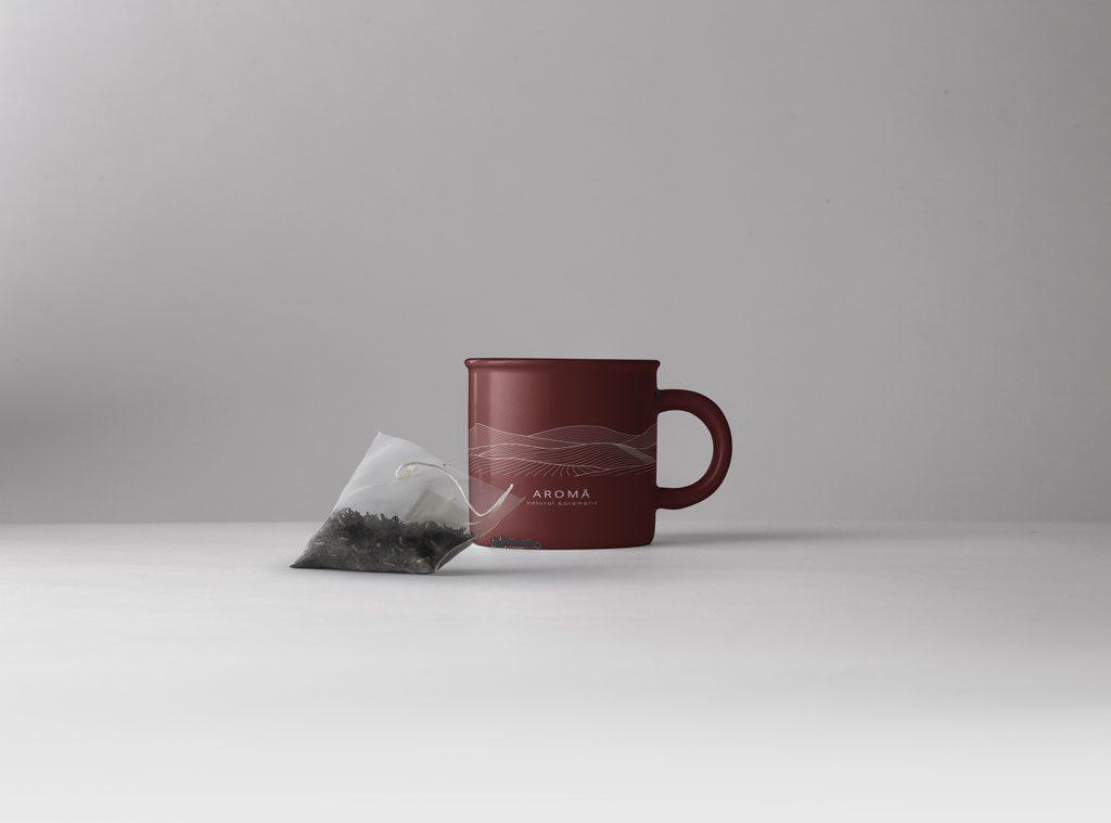 Aroma Organic Herbal Tea - Tea Cup